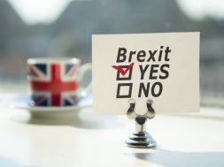 United Kingdom exit (brexit)  answer YES checked